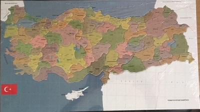 Türkiye Haritası Puzzle